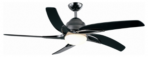 "Fantasia Viper Plus LED 54"" Pewter Ceiling Fan + Remote Control +  Light 116110"